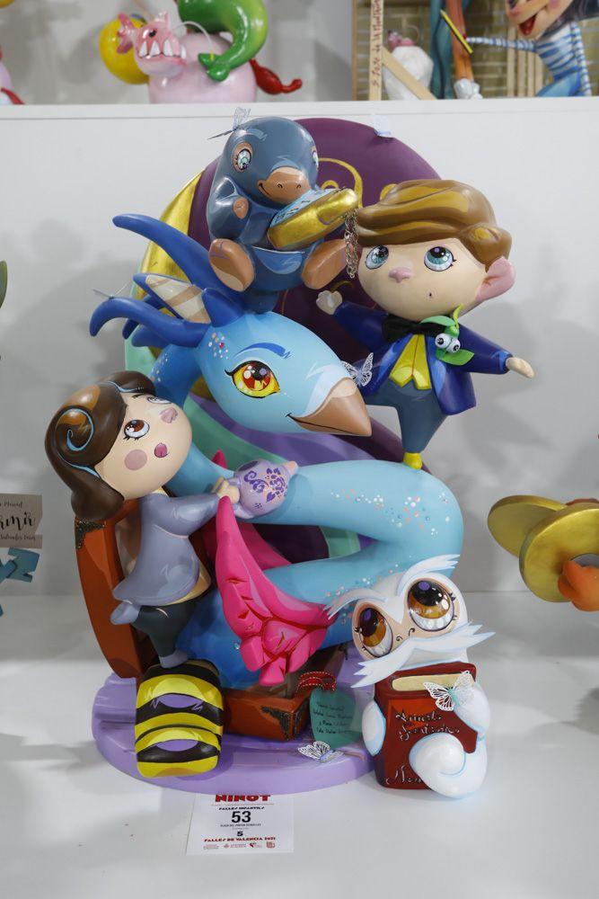 Fallas 2021: Ninots de las secciones Cuarta a Octava (infantiles).
