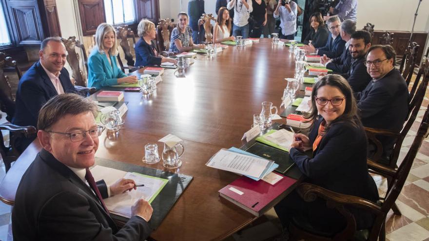 Puig llevará al pleno del Consell el recorte en el gasto pese al rechazo de Compromís