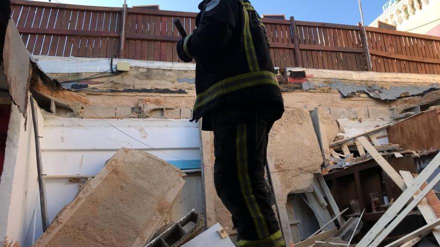 Restaurant-Dach in Magaluf eingestürzt