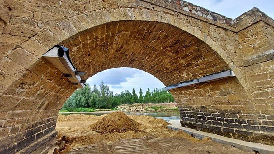 Destinados más de medio millón de euros al puente de Castrogonzalo
