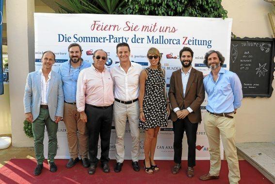 Sebastian Oliver, Llorenç Salvà, José Manuel Atiénzar, Toni Tugores, Marina Villalonga, Gabriel Buades, Daniel Olabarria