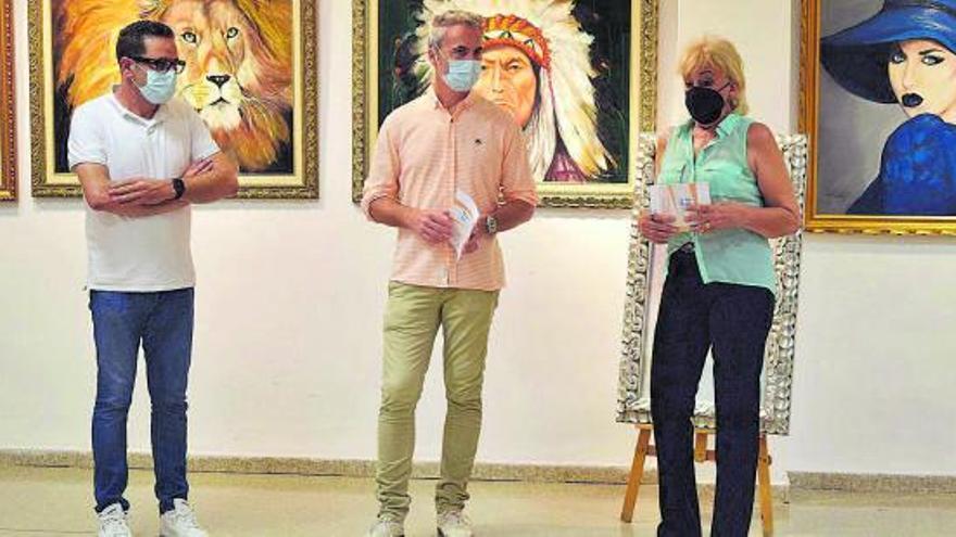 Sedavi presenta l'exposició de pintures de Mercedes Simón