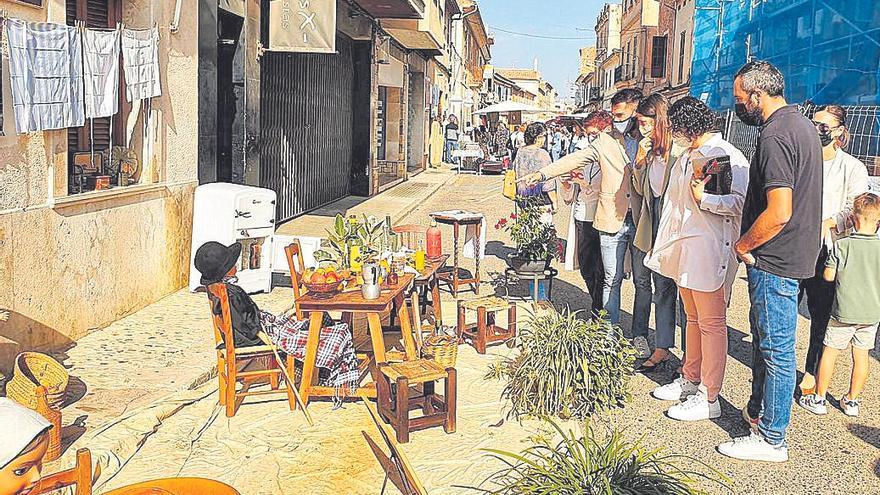 Campos disfruta de su día grande de 'fira' con el 'mercat matancer'
