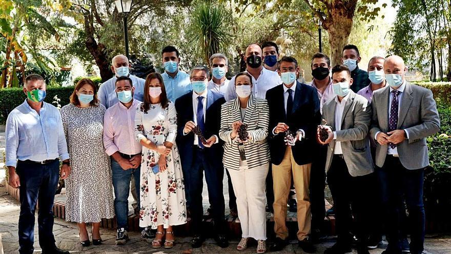 Nace la Asociación Sipam de la Uva Pasa de Málaga en la comarca de la Axarquía