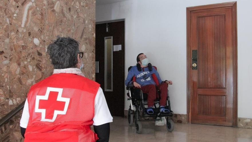 L'ajuda de Creu Roja augmenta un 34% en una setmana a la Comunitat Valenciana