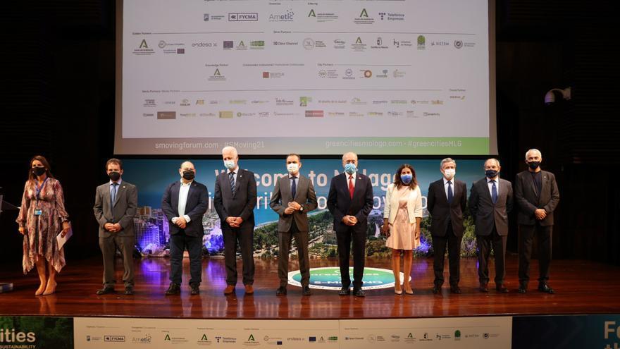 """Greencities y S-Moving arrancan en Málaga hablando de """"superciudades"""", movilidad sostenible y taxis aéreos"""