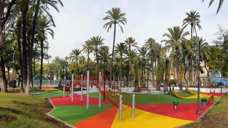 Recuperan el Palmeral de La Paz como nuevo espacio de ocio en Murcia