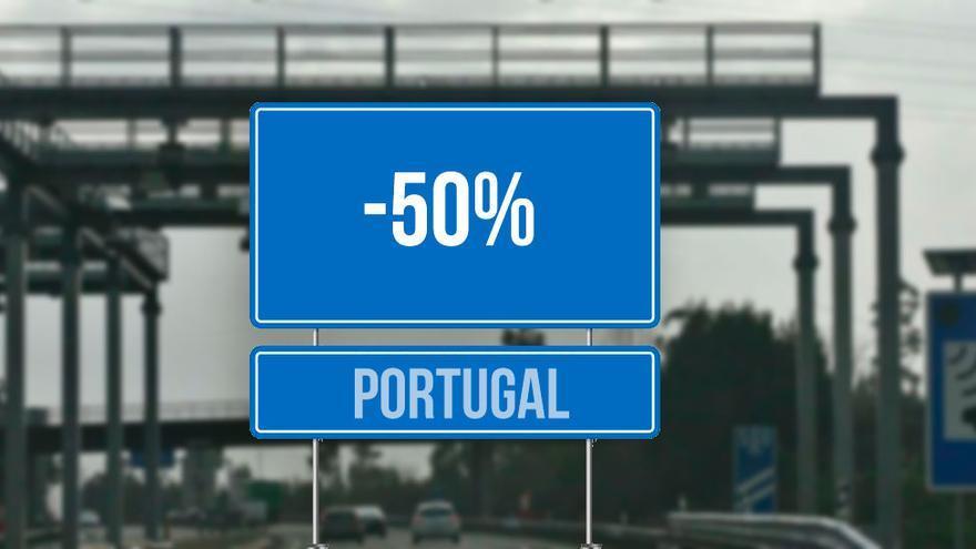 Viajar por autovía en Portugal es desde hoy la mitad de barato