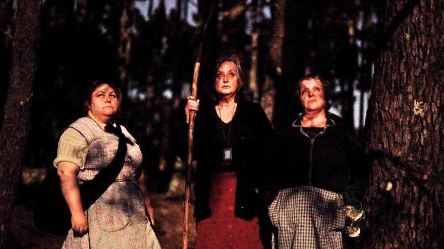 Tres meigas hechizan la Berlinale