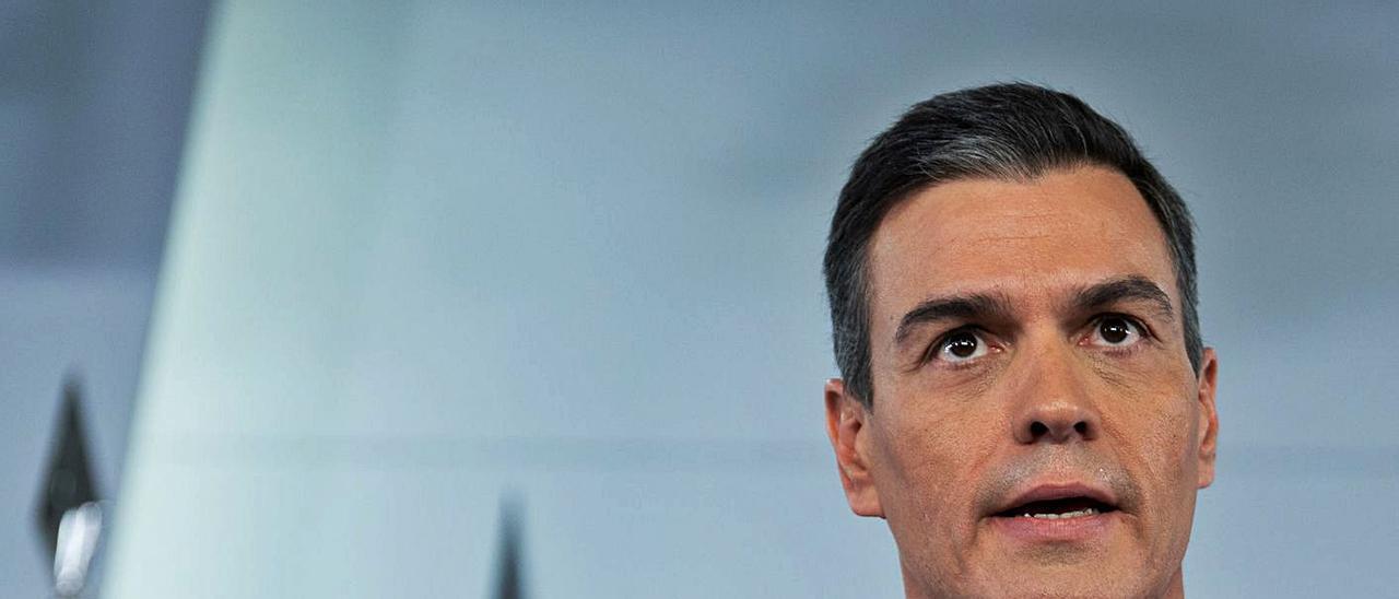 El presidente del Gobierno, Pedro Sánchez, en la rueda de prensa tras la Cumbre del G20.