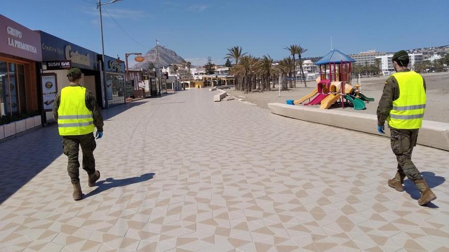 Xàbia pide a Costas que permita terrazas en los paseos marítimos del Arenal y el Puerto
