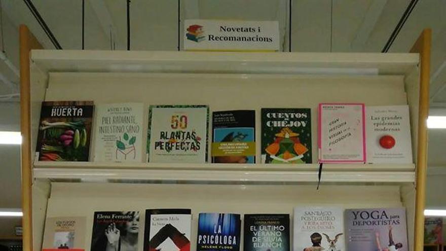 Las bibliotecas de Manises adquieren 150 ejemplares nuevos