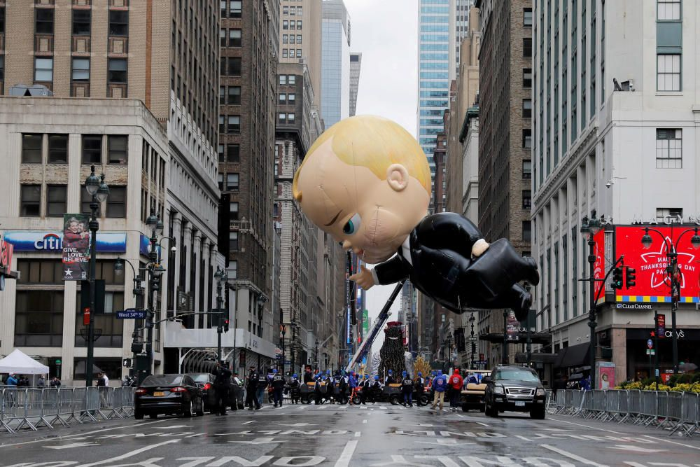 Acción de Gracias en NY.