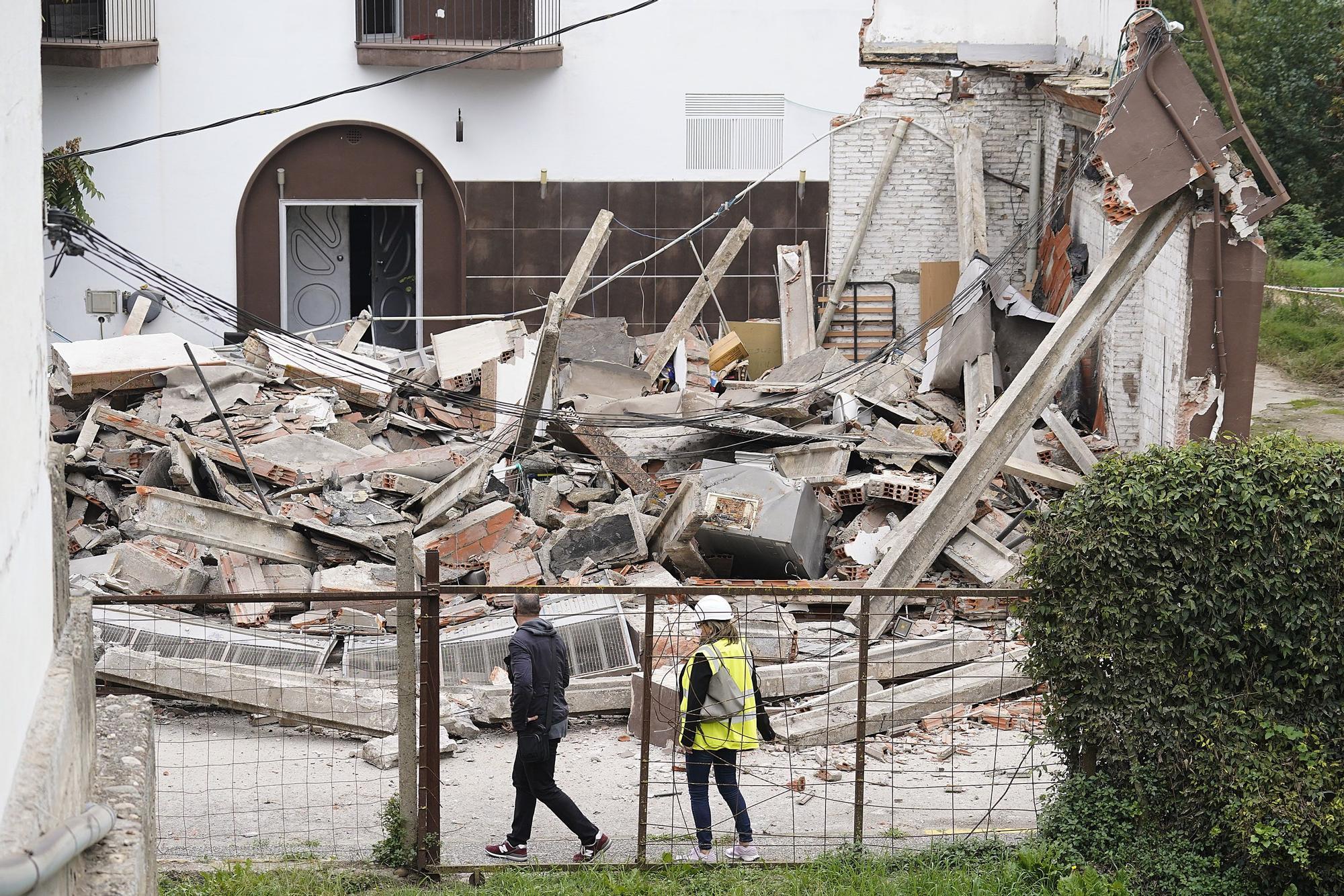 Cedeix el sostre d'un magatzem a Girona