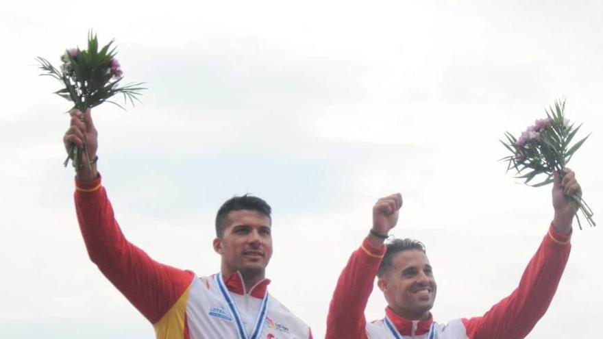 Los últimos medallistas de piragüismo afinaron su preparación en Trasona
