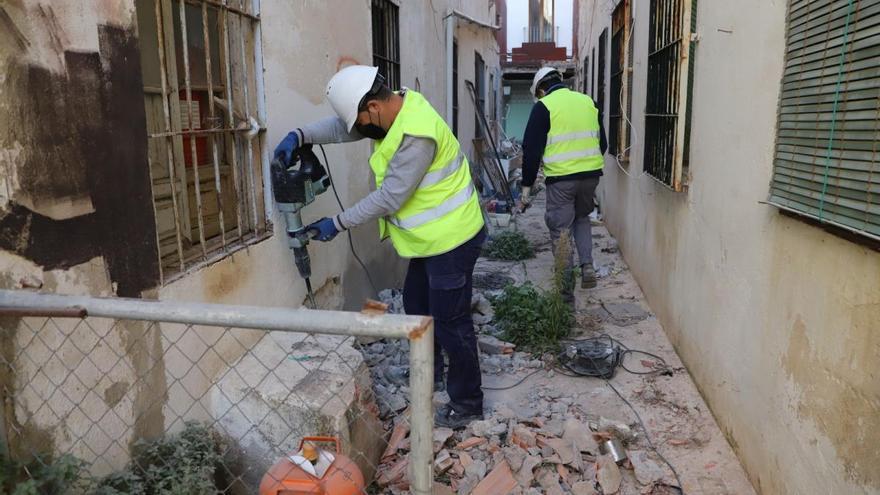 Urbanismo quiere completar la apertura de Vino Tinto con la mejora de San Eloy y el arreglo de fachadas
