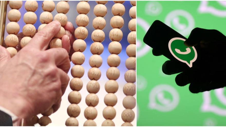 L'engany de WhatsApp sobre els dècims no premiats de la Loteria de Nadal