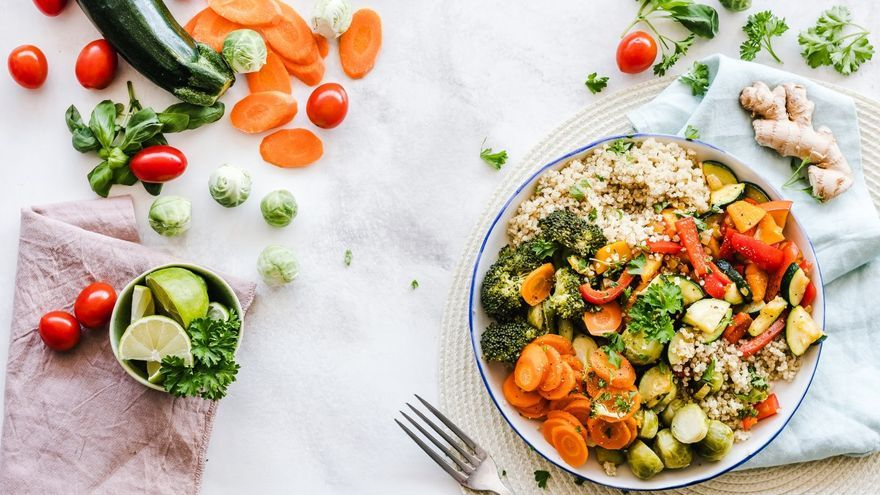 La cocina vegetariana saludable de Abdul R. Radou