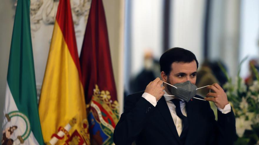 "Garzón ve un ""error notable"" que Más Madrid rechace la coalición con Podemos"