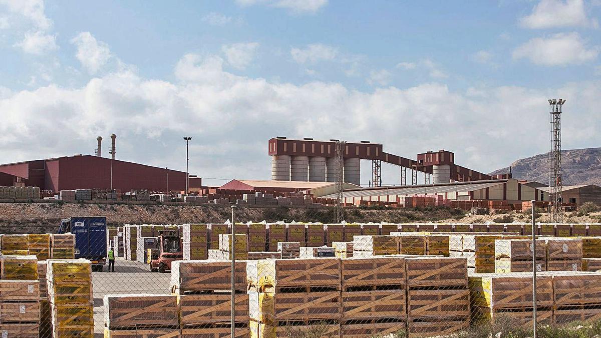 La fábrica de La Escandella, en Agost.