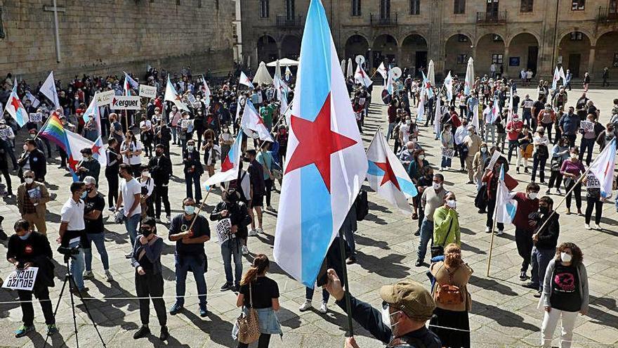 Via Galega reclama l'autodeterminació