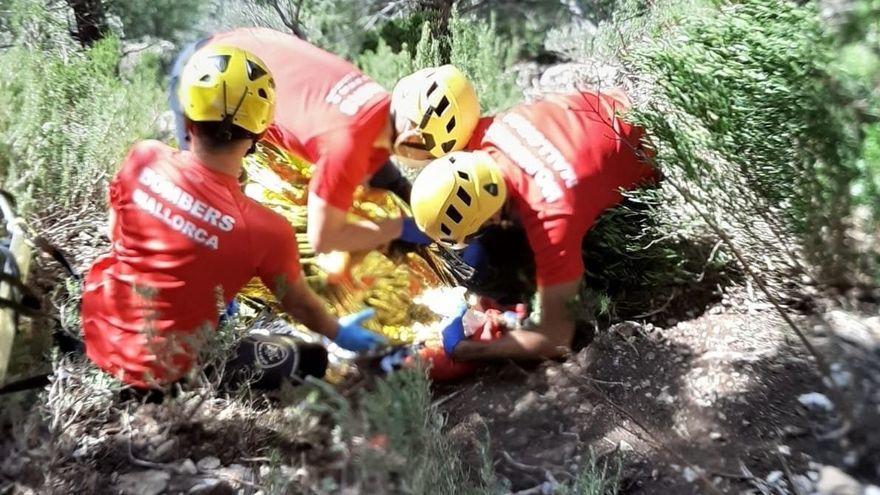 Fall aus 15 Metern Höhe: Kletterer verunglückt bei Castell d'Alaró