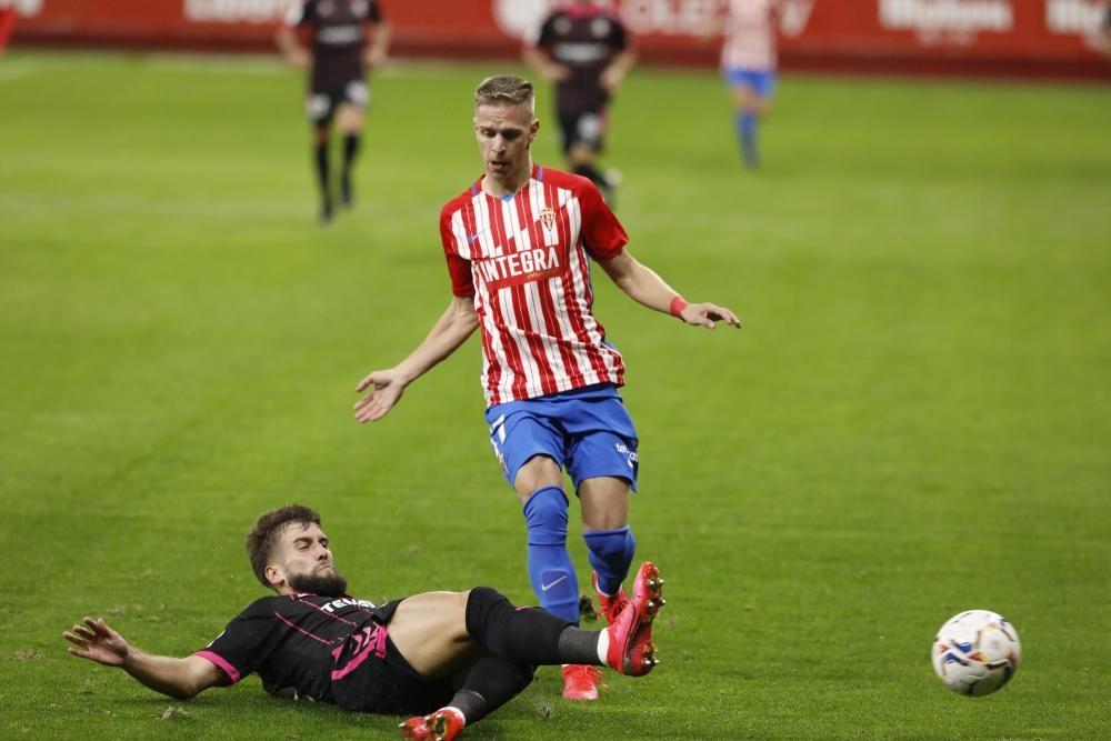 El partido del Sporting ante el Tenerife, en imágenes