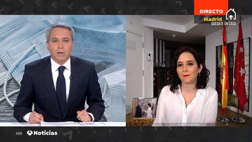 Vicente Vallés se niega a presentar el debate de las elecciones madrileñas