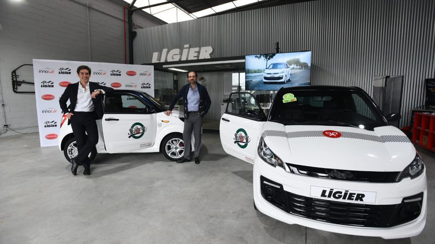 Silbon e Innocar lanzan un 'coche ligero' para jóvenes sin carnet