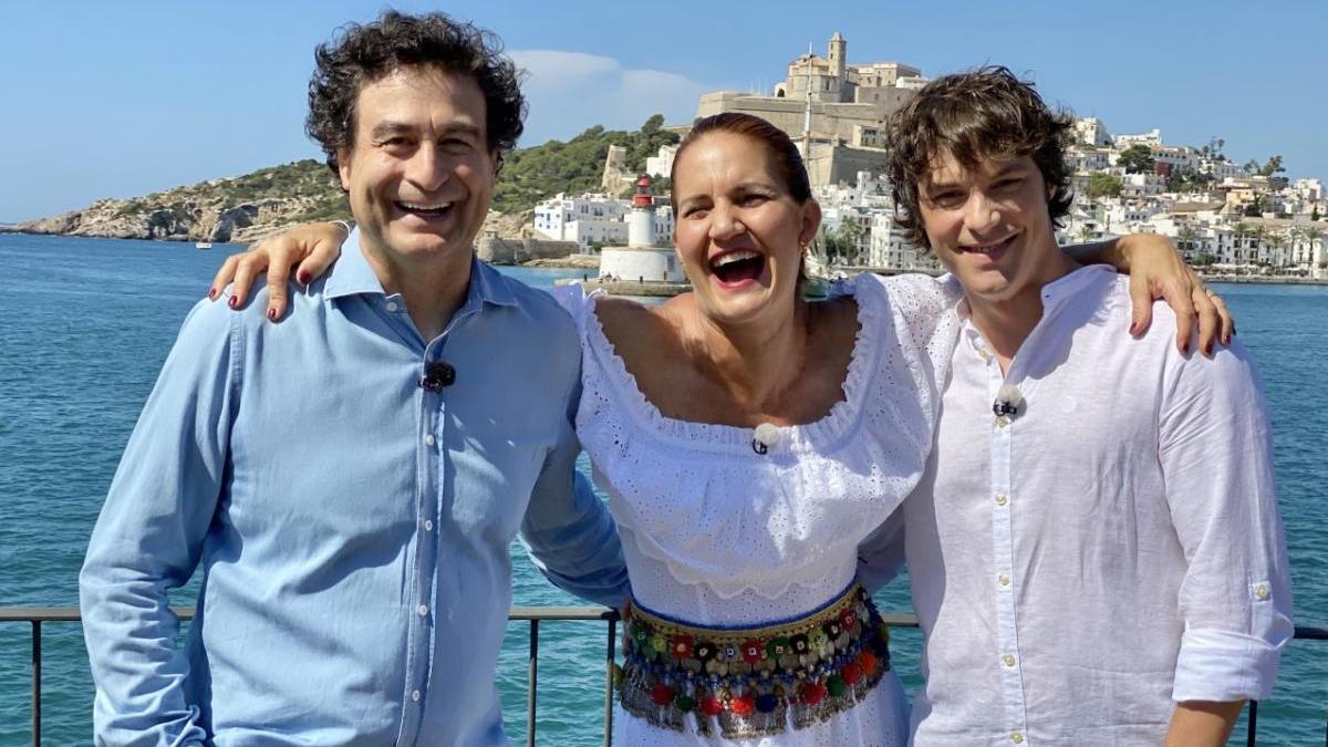 Los tres miembros del jurado de Mastechef grabaron un capítulo de Masterchef Celebrity en Ibiza