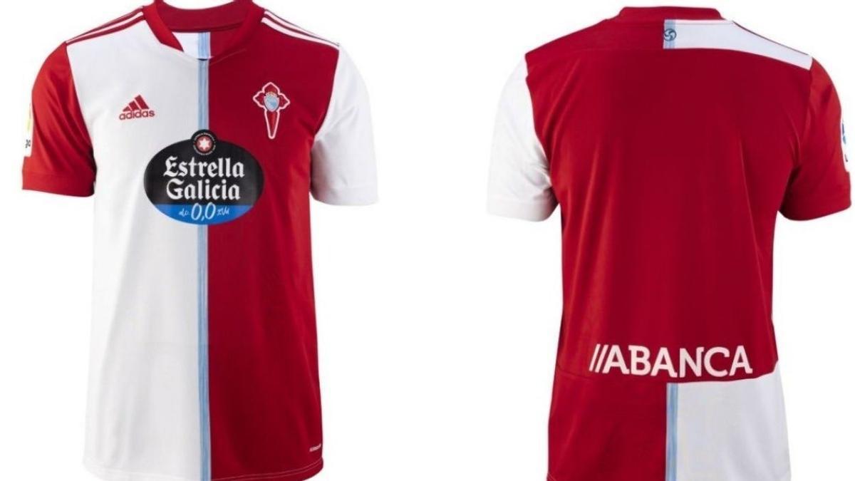 El Celta presenta su segunda camiseta para la temporada 2021-2022