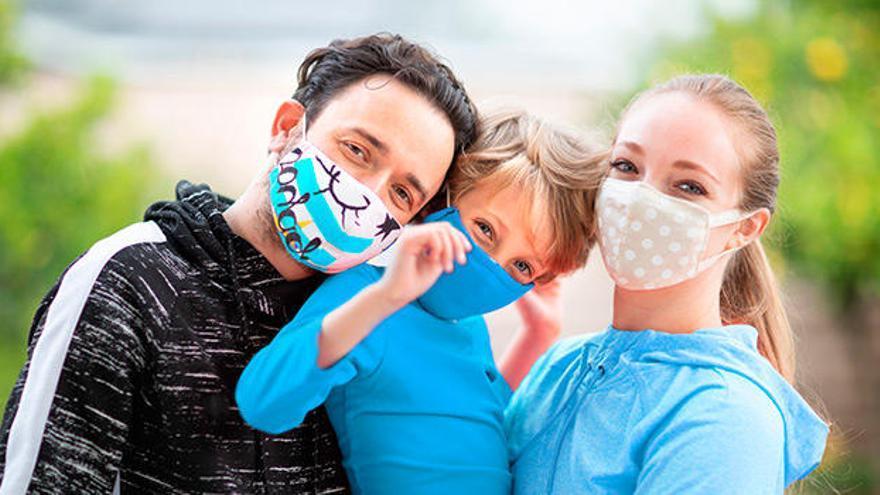 Mascarillas higiénicas infantiles gratis con INFORMACIÓN
