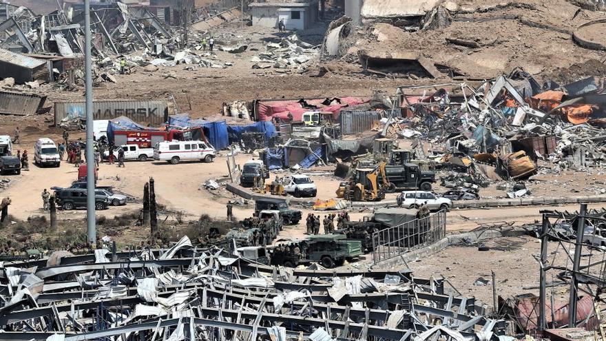 Líbano, el oasis de Oriente Medio, devastado por la explosión y la muerte