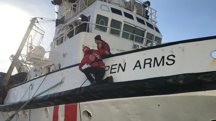 El 'Open Arms' consigue un puerto para desembarcar
