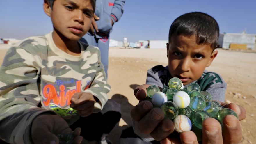 A infancia que rouban as guerras