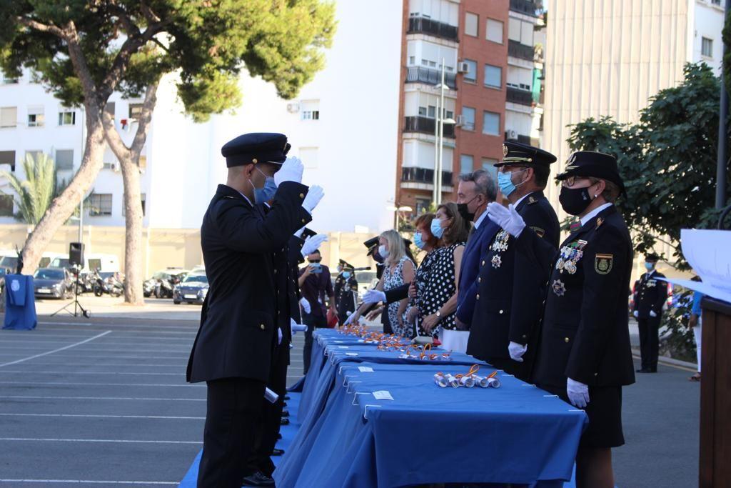 Jura la primera promoción covid de la Policía Nacional