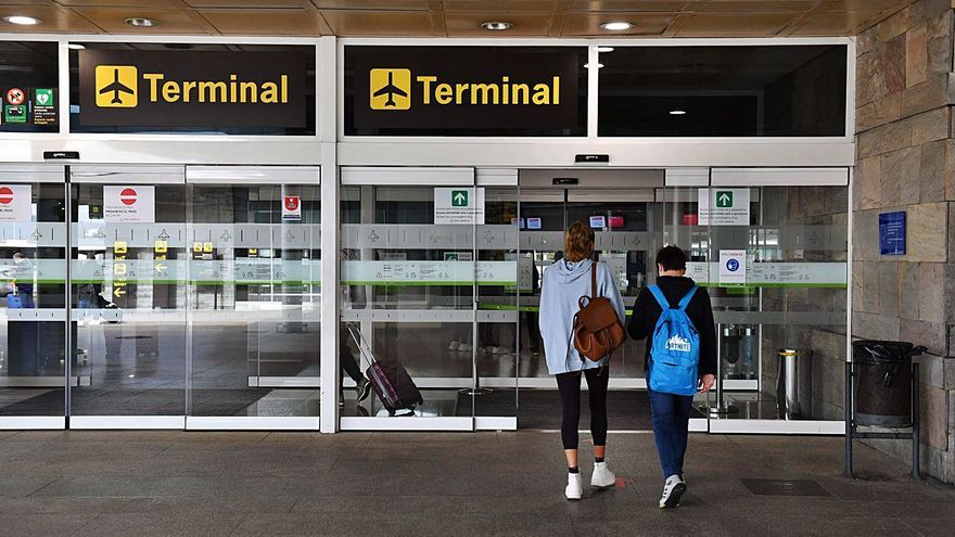Sin poder volar a Londres por tener el test COVID en gallego