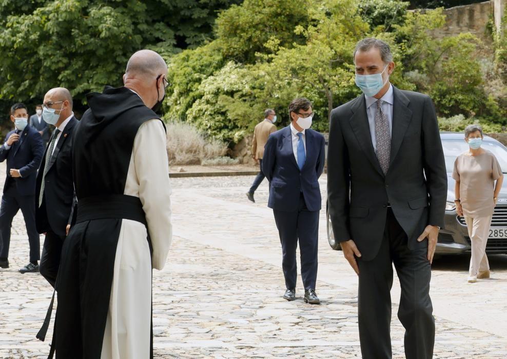 Visita de los Reyes a Cataluña