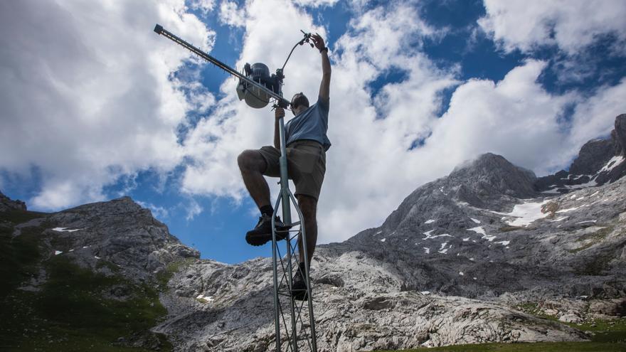 Visitamos la vega de Liordes, en Picos de Europa, el lugar más gélido de la península ibérica