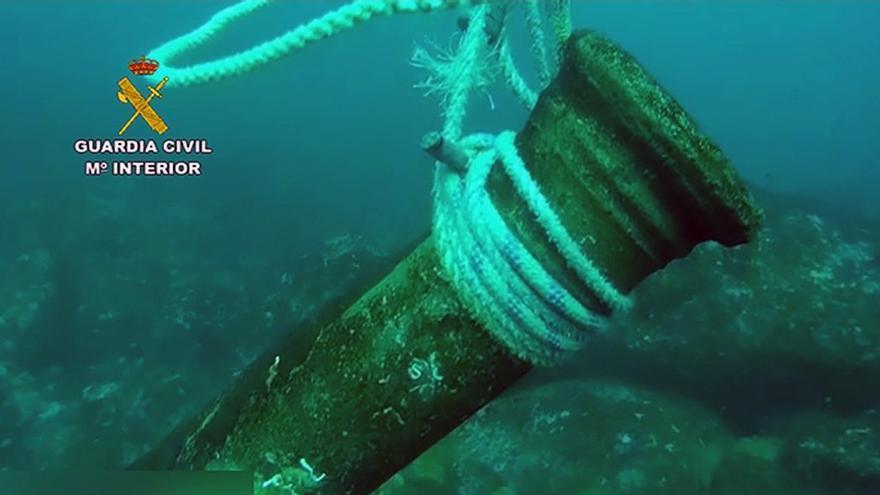 Recuperan un cañón de bronce del siglo XVI expoliado en Galicia
