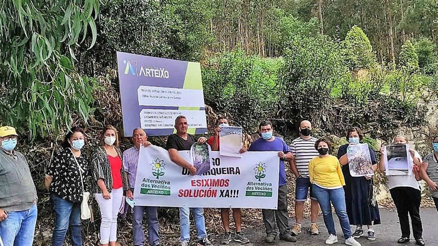 Reclaman una obra que solucione las inundaciones en Chamín