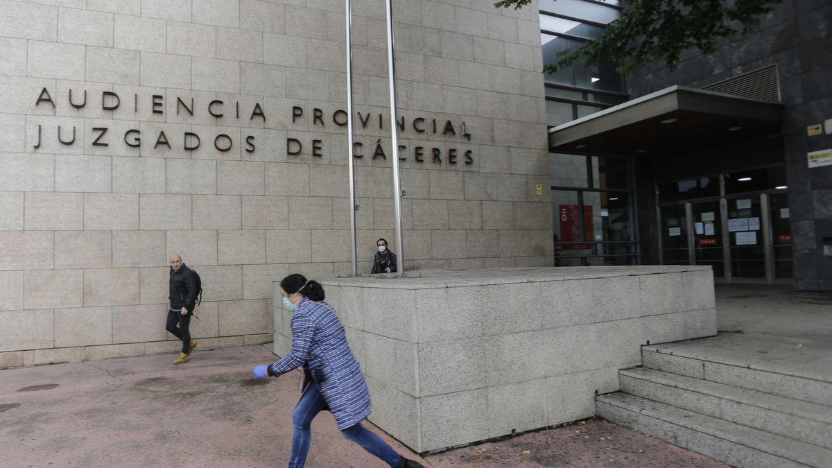 Imagen de archivo de los Juzgados de Cáceres.