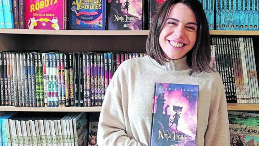 Dati Ruiz: «Hoy en día los niños son reacios a encontrar mucho texto en los libros»