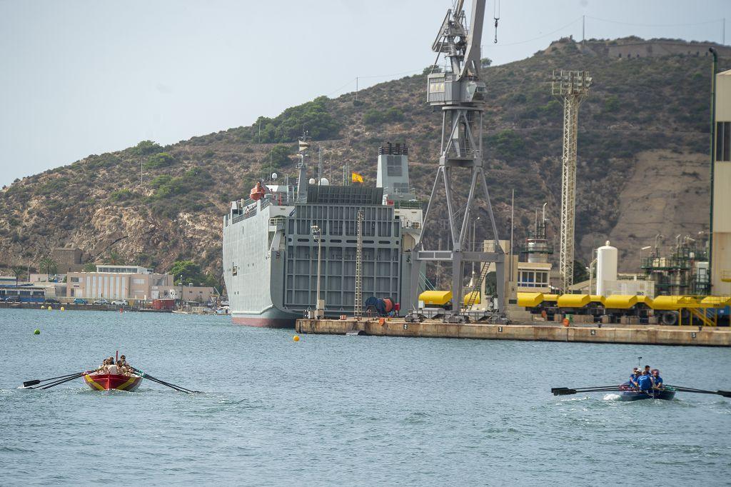 Los cartagineses ganan la regata marítima