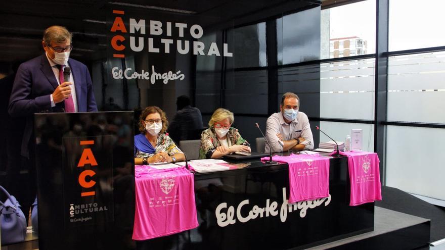 La oncóloga Ana Lluch presenta la 7ª marcha contra el cáncer de mama en El Corte Inglés de Castelló