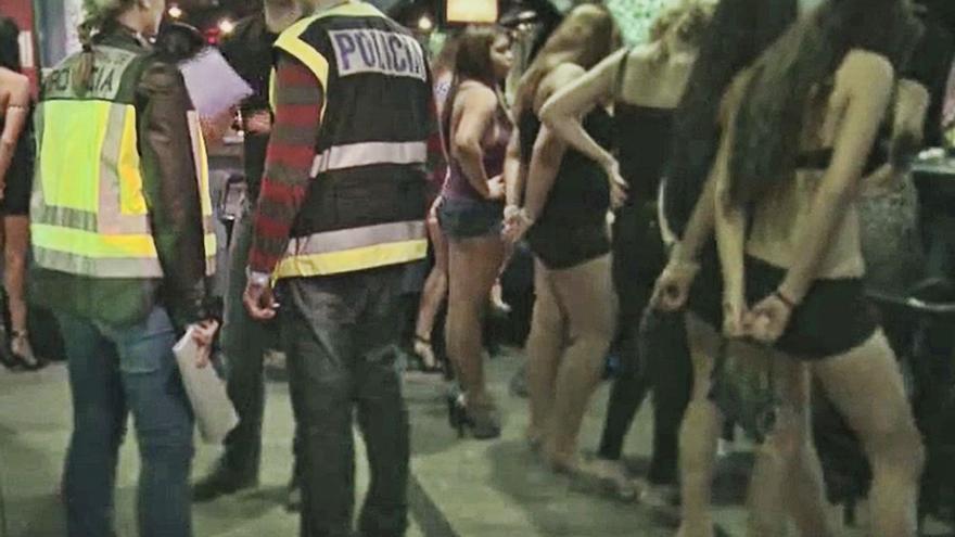 Ocho detenidos en Cuenca y Alicante por prostituir  a jóvenes de Paraguay