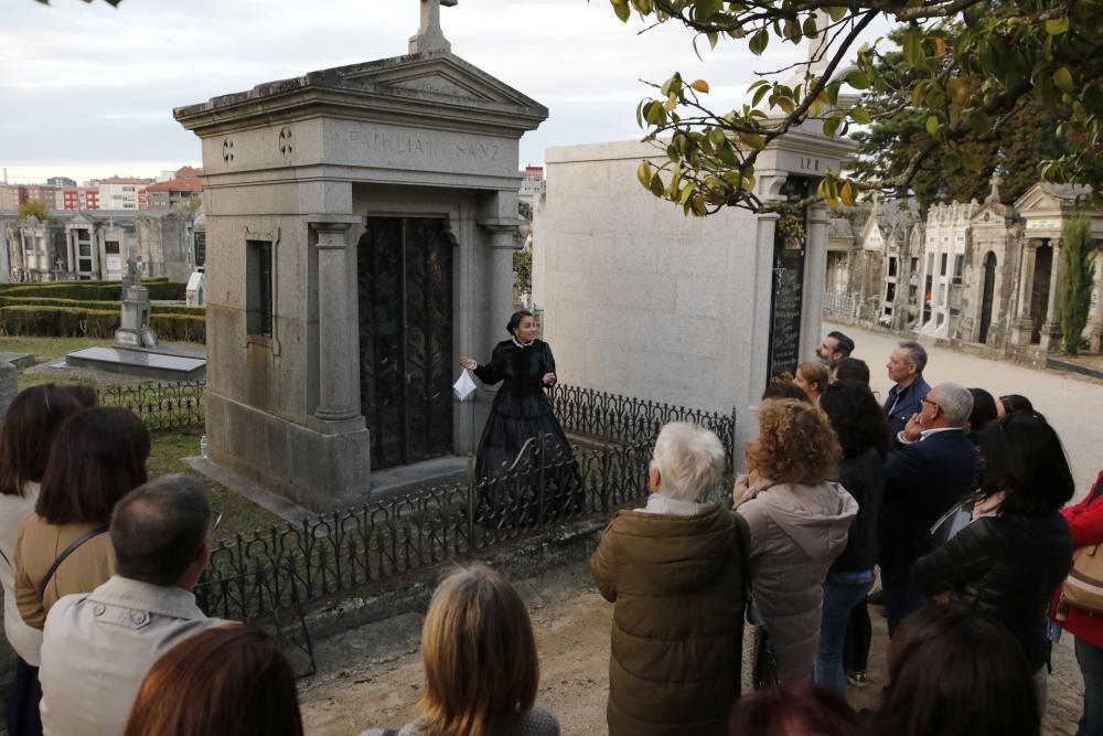 El patrimonio histórico y cultural del cementerio de Pereiró, al descubierto.