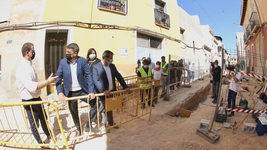 La Diputación de Alicante invierte 800.000 euros en la reurbanización de calles de Aspe y Agost