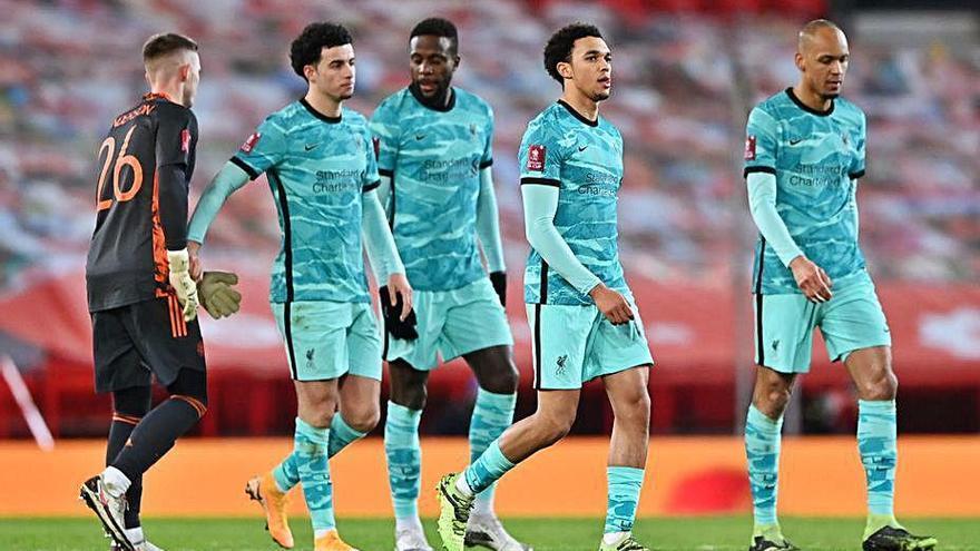El Manchester United elimina un Liverpool que no aixeca el cap