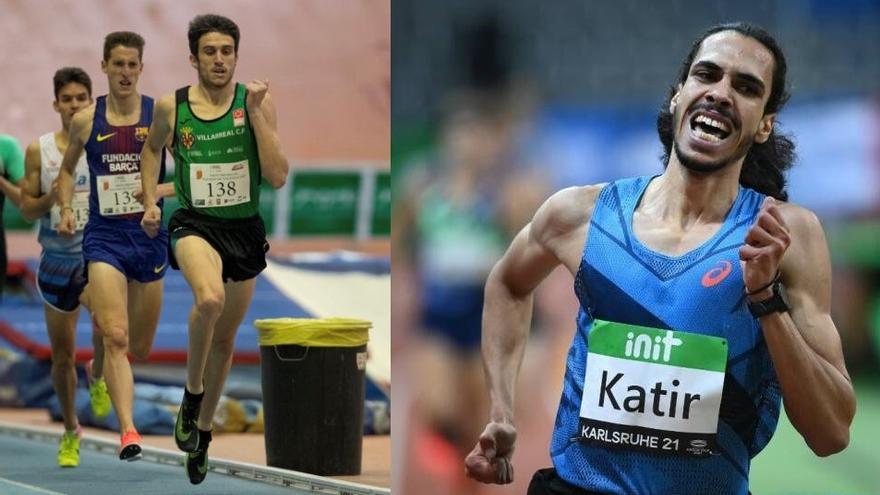 Mariano García y Mohamed Katir siguen triunfando en el World Indoor Tour